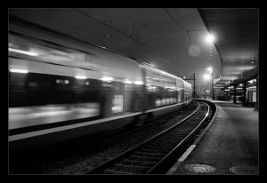 Gare de nuit
